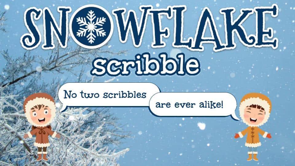 Snowflake Scribble